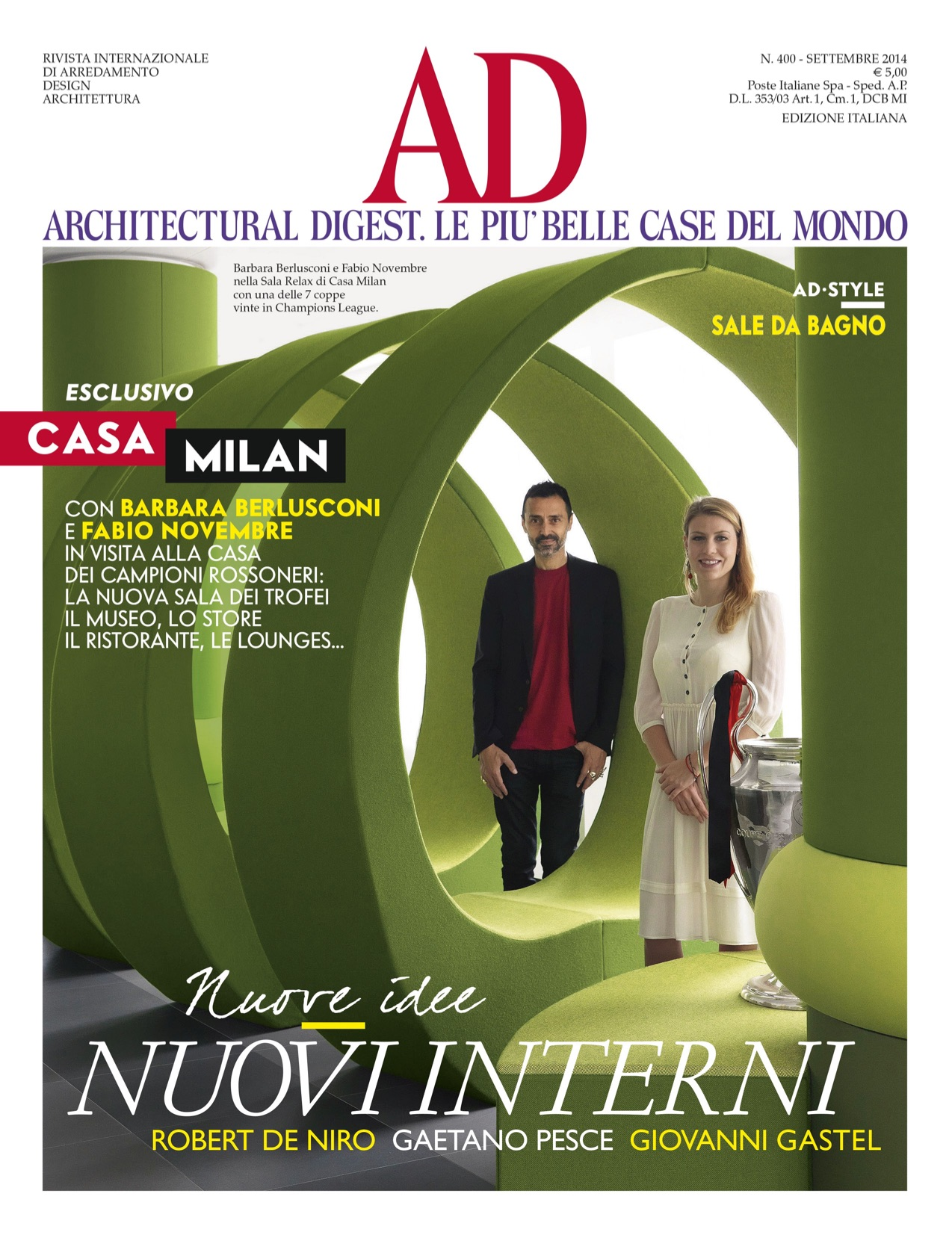 Architectural Digest Italia Settembre 2014