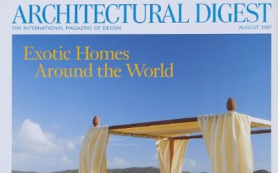 Guided by Nature: Savin Couëlle on Architectural Digest