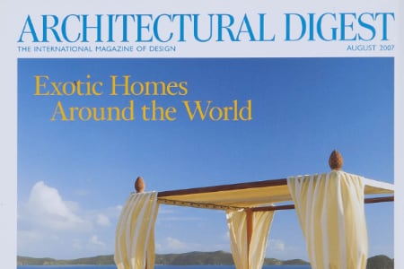 Guided by Nature: Savin Couëlle su Architectural Digest