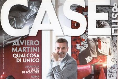 Lo stilista Alviero Martini su Case & Stili