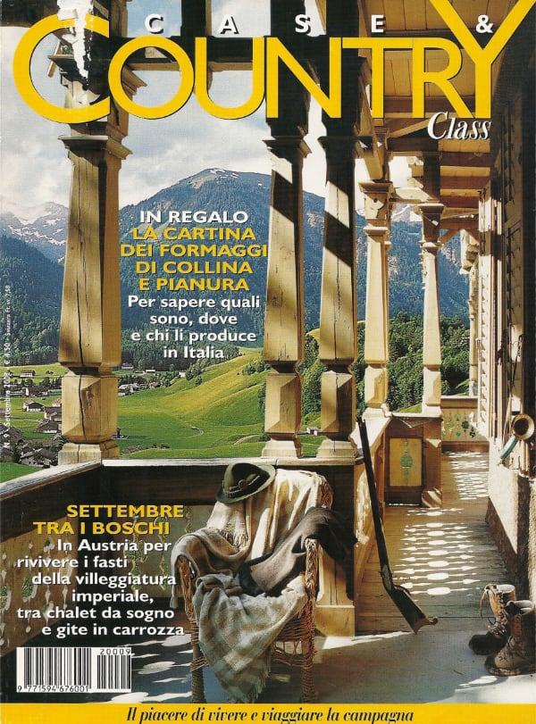 Case e Country Vorarlberg Austria settembre 2002