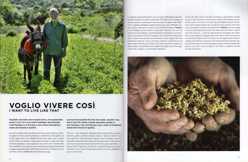 immagine dell'articolo con le foto del reportage pubblicato sulla rivista Coast